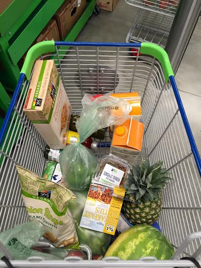 Our cart of goods