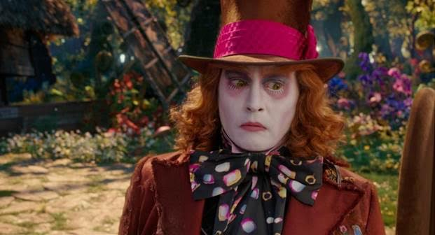 Johnny Depp as Hatter. Photo: Courtesy of Disney