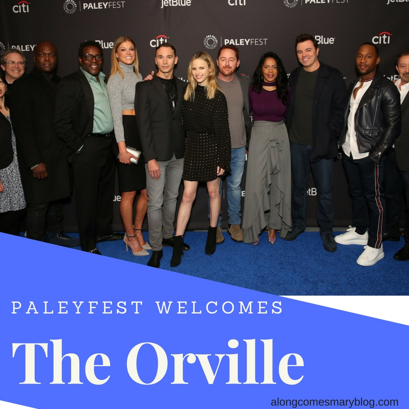 Seth Macfarlane And The Orville At Paleyfest Along Comes Mary Cherry chevapravatdumrong) is originally from ann arbor, michigan. along comes mary